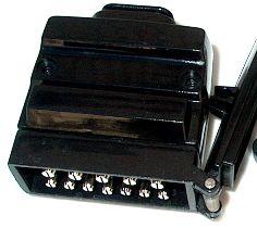 12 pin flat trailer plug