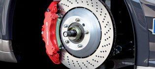 service brakes