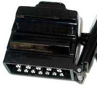 12-Pin Flat Trailer Plug