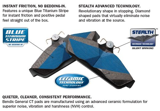 Bendix Noise Absorbing Shims