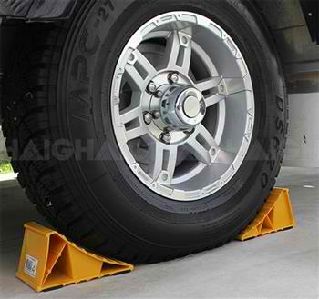 Wheel Chocks Yellow