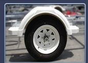 Boat Trailer Wheel Mud Guards